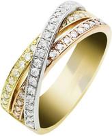 Jan Logan 18ct Diamond Union Ring