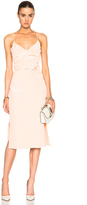 Cushnie et Ochs Silk Crepe Dress