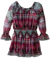 Ella Moss Cici Printed Peasant Dress (Big Kids)