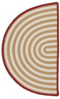 Colonial Mills Braided Gold Indoor/Outdoor Area Rug