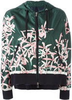 Moncler floral print jacket - women - Polyamide - 0