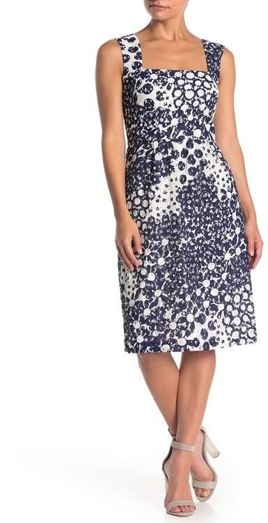 Trina Turk trina Approval Printed Lace Midi Dress