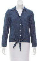 Soft Joie Chambray Button-Up Top w/ Tags