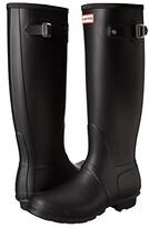 Hunter Tall (Black) Women's Rain Boots