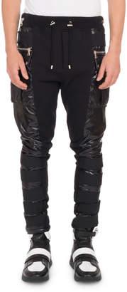 Balmain Men's Calecon Cargo Pants