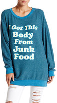 Wildfox Couture Junk Food Bod Roadtrip Sweater