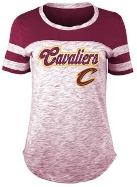 5th & Ocean Women's Cleveland Cavaliers Space Dye T-Shirt
