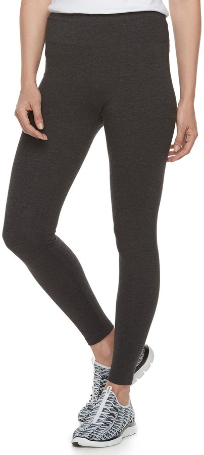 Croft & Barrow Petite Tummy Control Midrise Leggings
