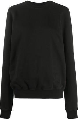 Rick Owens Layered Zipped Sweatshirt
