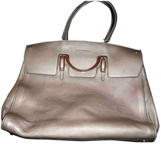 Coccinelle Gold Leather Handbags