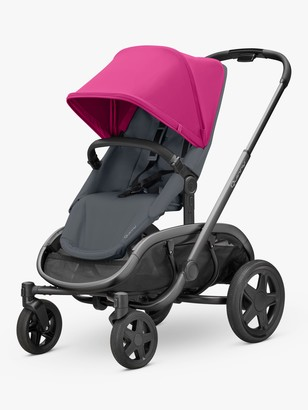 Quinny Hubb Mono Pushchair, Pink/Graphite