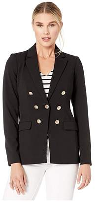 Calvin Klein Jacket with Embossed Buttons