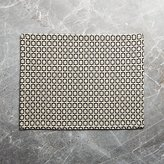 Crate & Barrel Modular Grey Placemat