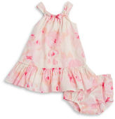 Kate Spade Baby Girls Baby's Floral Dress and Bloomers Set