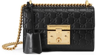 Gucci Padlock small Signature shoulder bag