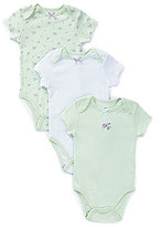 Little Me Baby Girls Newborn-9 Months Petite Rose 3-Pack Bodysuits