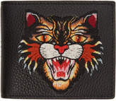 Gucci Black Angry Cat Wallet