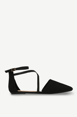 Ardene Pointy Faux Suede Flats