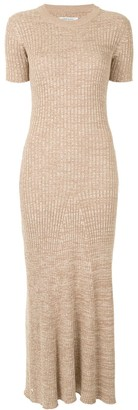 ANNA QUAN Open Back Knit Dress