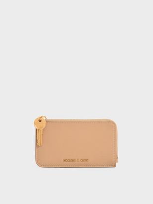 Charles & Keith Zip Around Mini Wallet