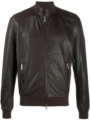 S.W.O.R.D 6.6.44 Band Collar Bomber Jacket