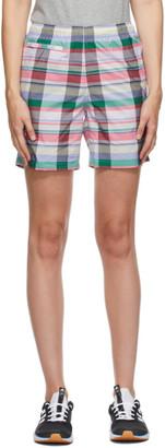 Noah NYC Multicolor adidas Edition Check Shorts
