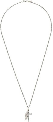 Emanuele Bicocchi Wing and Cross pendant necklace