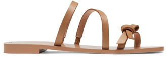Kate Spade Porto Leather Flat Sandals