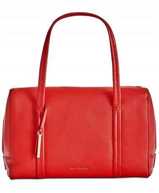 Vera Bradley Canyon Sunset Leather-Mallory-Satchel