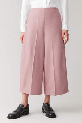 Cos ROUNDED WOOL CULOTTES
