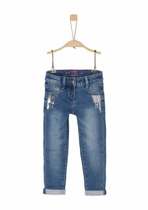 S'Oliver Girl's 53.911.71.3504 Jeans