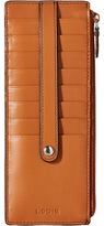 Lodis Audrey Card Case With Zip Pocket