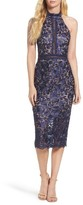 Xscape Evenings Women's Illusion Lace Sheath Dress