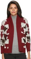Woolrich Women's Harvest Southwest Open-Front Cardigan