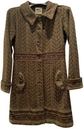 Non Signé / Unsigned Non Signe / Unsigned Hippie Chic Multicolour Wool Coats