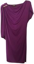 Roberto Cavalli Purple Dress for Women
