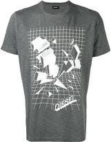 Diesel graphic logo T-shirt - men - Cotton - L