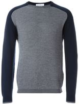 Salvatore Ferragamo contrast sleeves jumper