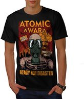 Ready For Disaster Men XXXL T-shirt | Wellcoda