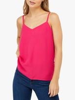 Monsoon Elma Button Detail Cami, Pink