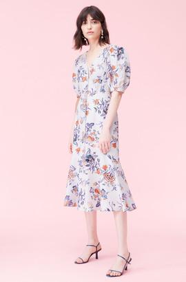 Rebecca Taylor Toile Linen Dress