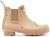 Hunter Women's Original Chelsea Desert Camo Boots Pale Sand