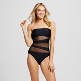 Mossimo Women's Mesh Inset One Piece