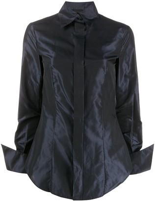 Gianfranco Ferré Pre Owned 2000s Classic Collar Shirt