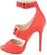 Jimmy Choo Cutout Buckle Sandals