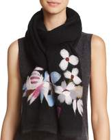 Echo Brushstroke Floral Scarf - 100% Exclusive