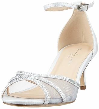 Paradox London Pink Women's LOLA Ankle Strap Sandals