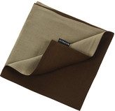 Chilewich Double Linen Napkin - Bronze/Moss
