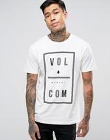 Volcom Saturday T-Shirt in White Paint
