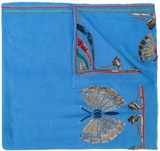 Janavi K. Prospect Park cashmere scarf